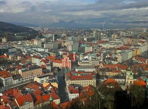 Ljubljana View At Ljubljanski Grad