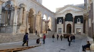 Peristil courtyard