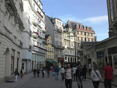Karlovy Vary - Carlsbad Pedestrian Street