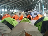 Tent exhibition - Prague