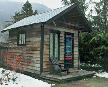 AirBnB Hut in Pemberton, BC