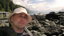 Quatertide Rocks selfie, West Coast Trail